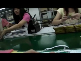 Как собирают китайские планшеты за 50$ на заводе